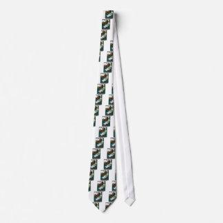 Neurotic Snowman Tie