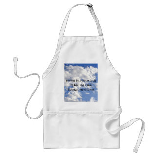 Neurotics Build Castles in the Sky Apron