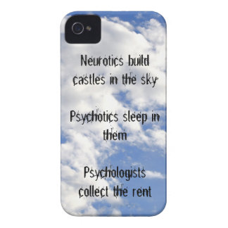 Neurotics Build Castles in the Sky iPhone 4 Cover
