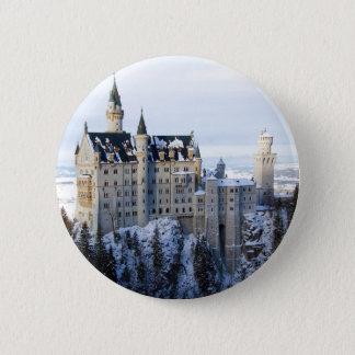Neuschwanstein Castle 4 6 Cm Round Badge