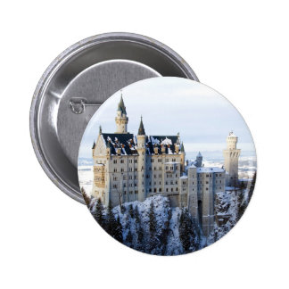 Neuschwanstein Castle 4 6 Cm Round Badge