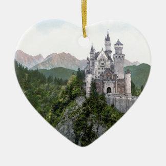 Neuschwanstein Castle 5 Christmas Ornament