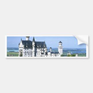 Neuschwanstein Castle Bavaria Car Bumper Sticker