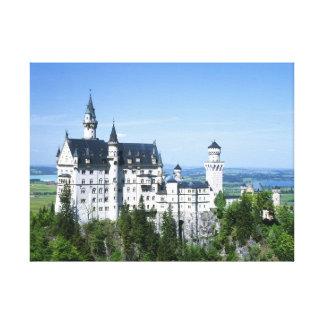 Neuschwanstein castle Bavaria Germany Canvas Print