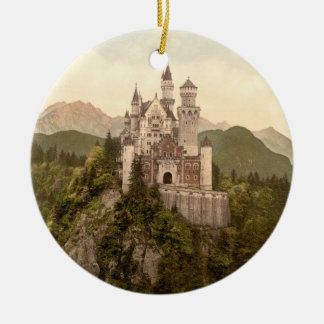 Neuschwanstein Castle, Bavaria, Germany Christmas Ornament