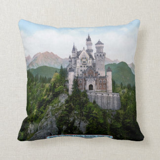Neuschwanstein Castle, Bavaria, Germany Cushion