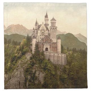 Neuschwanstein Castle, Bavaria, Germany Napkin