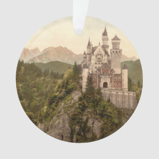 Neuschwanstein Castle, Bavaria, Germany Ornament