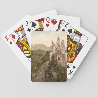 Neuschwanstein Castle, Bavaria, Germany Playing Cards