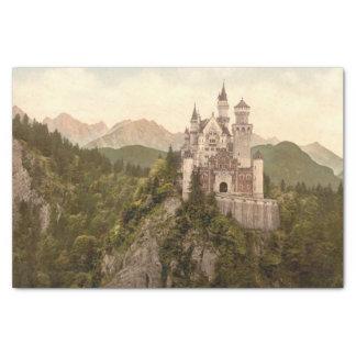 Neuschwanstein Castle, Bavaria, Germany Tissue Paper