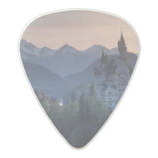 Neuschwanstein Castle, built late 1800's by Acetal Guitar Pick