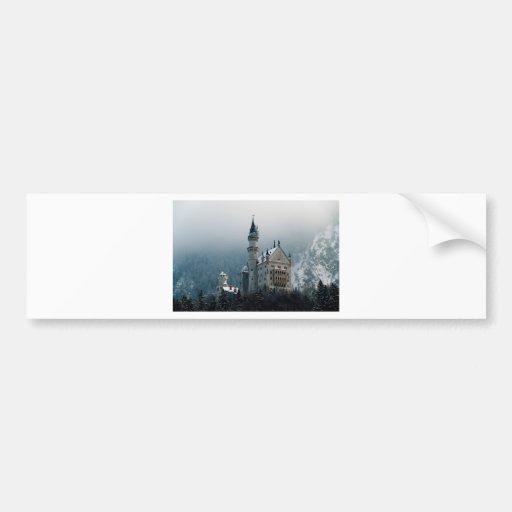 Neuschwanstein Castle Bumper Sticker