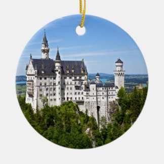 Neuschwanstein Castle Christmas Ornament