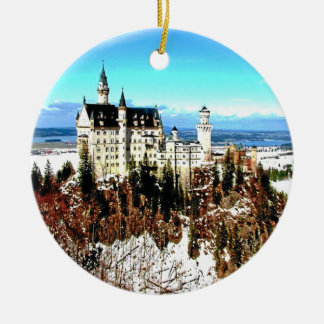 NEUSCHWANSTEIN CASTLE, GERMANY CHRISTMAS ORNAMENT
