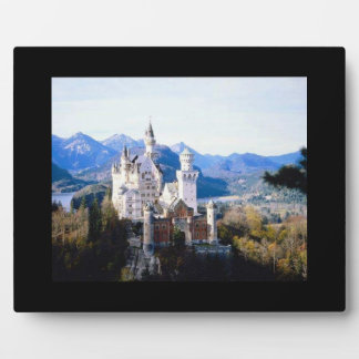 Neuschwanstein Castle Germany Photo Placque Plaque