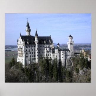 Neuschwanstein Castle Germany Poster