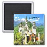 NEUSCHWANSTEIN CASTLE, GERMANY REFRIGERATOR MAGNET