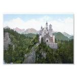 Neuschwanstein Castle Lithograph Photo