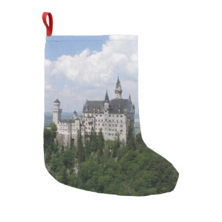 Neuschwanstein Castle Small Christmas Stocking