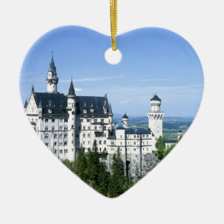 Neuschwanstein Christmas Ornament