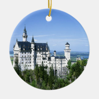 Neuschwanstein Round Ceramic Decoration