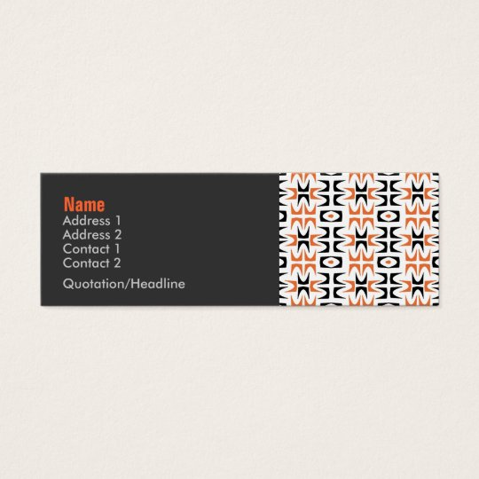 Neutra Retro Profile Card