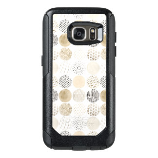 Neutral Abstract Circle Pattern OtterBox Samsung Galaxy S7 Case