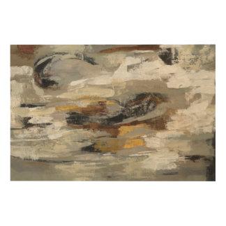 Neutral Abstract Gray Print | Silvia Vassileva