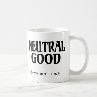 """Neutral Good"" Basic White Mug"