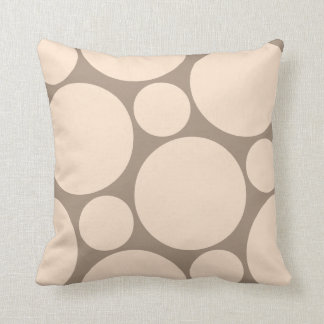 Neutral Polka Dot Pillow