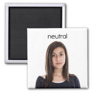 Neutral Refrigrator Magnet