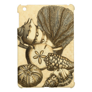 Neutral Shells and Coral Collection iPad Mini Cover