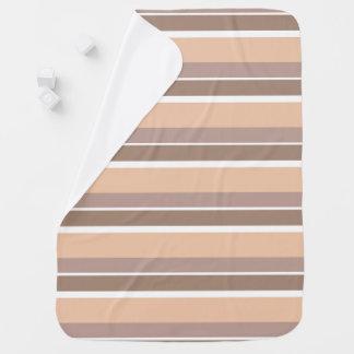 Neutral Stripes Baby Blanket