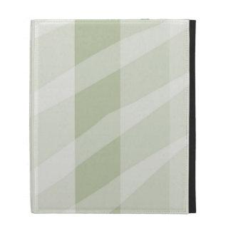 Neutral Zebra Print iPad Folio Cover