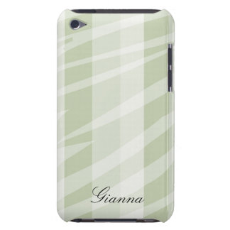 Neutral Zebra Print iPod Touch Cases