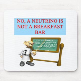 NEUTRINO quantum mechanics physics joke Mouse Mat