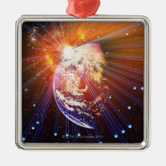 Neutrinos 2 christmas ornament