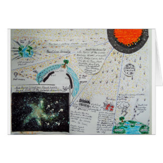 Neutrinos are Gravity, Greeting Card