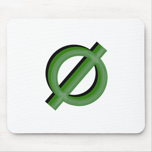 Neutrois 3d Green Mousepad