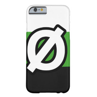 NEUTROIS PRIDE FLAG AND SYMBOL BARELY THERE iPhone 6 CASE