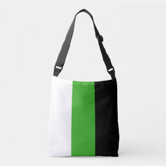 Neutrois Pride Flag Crossbody Bag