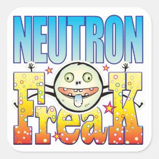 Neutron Freaky Freak Square Sticker