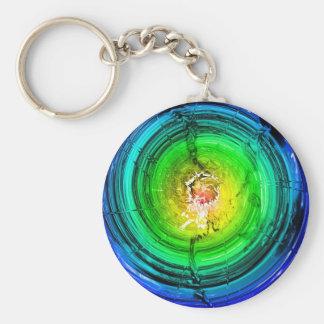 Neutron Star Basic Round Button Key Ring