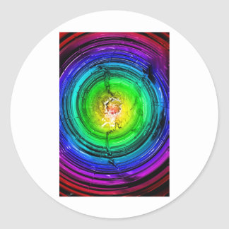 Neutron Star Round Sticker