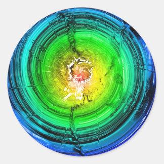 Neutron Star Round Stickers