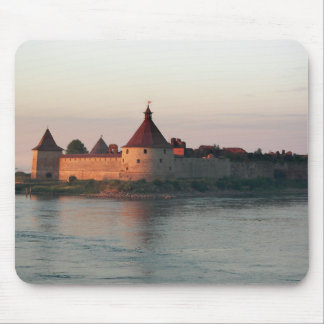 Neva River Fort Mouse Pad