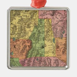 Nevada 3 christmas ornament