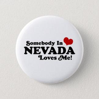Nevada 6 Cm Round Badge