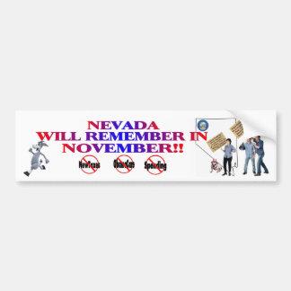 Nevada - Anti ObamaCare, New Taxes & Spending Bumper Sticker
