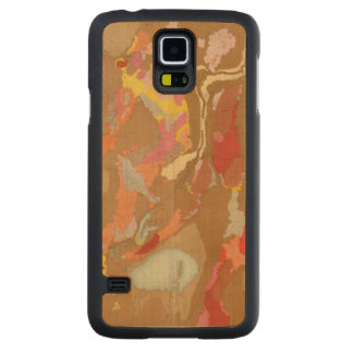 Nevada Basin Geological Carved Maple Galaxy S5 Case